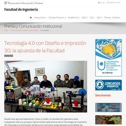 Tecnología 4.0 con Diseño e Impresión 3D, la apuesta de la Facultad