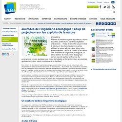 Journées de l'ingénierie écologique : coup de projecteur sur les exploits de la nature
