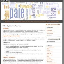 GRH - Ingénierie de formation Blog RH Maroc Blog dédié à la gestion (...)