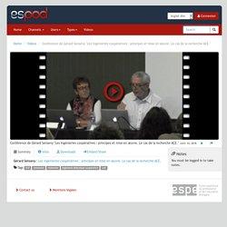 """ESPod - Conférence de Gérard Sensevy """"Les ingénieries coopératives : principes et mise en œuvre. Le cas de la recherche ACE."""""""