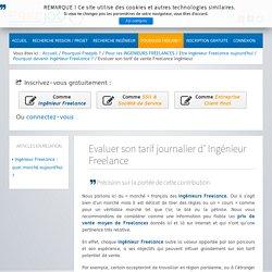 Ingenieur Freelance : Evaluer votre tarif de vente - FREEjob