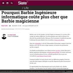 Pourquoi Barbie Ingénieure informatique coûte plus cher que Barbie magicienne