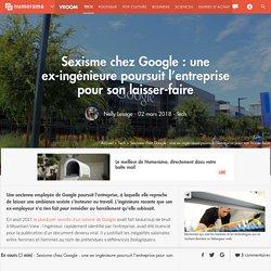 Sexisme chez Google : une ex-ingénieure poursuit l'entreprise pour son laisser-faire