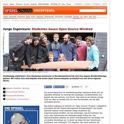 Junge Ingenieure: Studenten bauen Open-Source-Windrad - SPIEGEL ONLINE - Nach...
