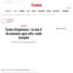 Écoles d'ingénieurs : la voie C du concours agro-véto, mode d'emploi - L'Etudiant