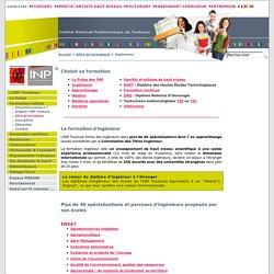 Ingénieurs - Site INP de Toulouse