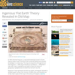 Ingenious 'Flat Earth' Theory Revealed In Old Map