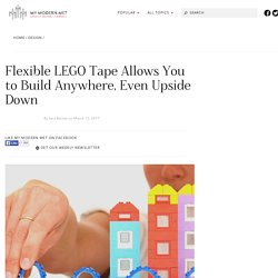 Ingenious LEGO Tape Lets You Build Tiny Block Worlds Anywhere