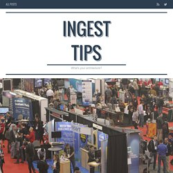 Ingest Tips / What was Hot at Strata 2015? - Ingest Tips