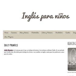 Inglés para niños: JOLLY PHONICS