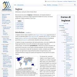 Inglese - Wikibooks, manuali e libri di testo liberi