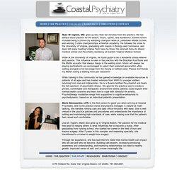 About Ryan W. Ingram, M.D.-Coastal Psychiatry