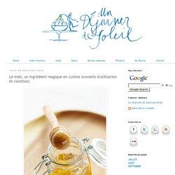 Le miel, un ingrédient magique en cuisine (conseils d'utilisation et recettes)