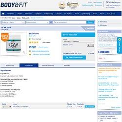 Ingrediënten van BCAA Pure - Body & Fit