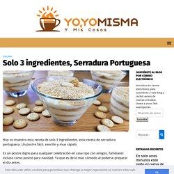 Solo 3 ingredientes, Serradura Portuguesa