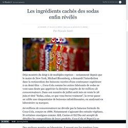 Les ingrédients cachés des sodas enfin révélés