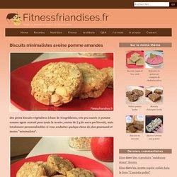Biscuits vegan 4 ingrédients : avoine, pomme, amandes, huile de coco