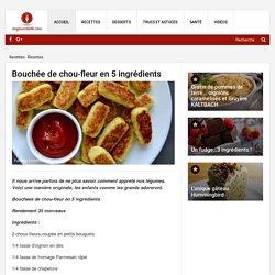 Bouchée de chou-fleur en 5 ingrédients - Recettes - Ma Fourchette