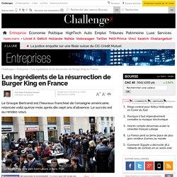 Les ingrédients de la résurrection de Burger King en France- 1 mai 2014