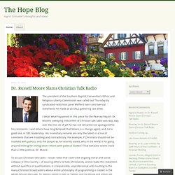 The Hope Blog