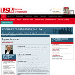 Ingvar Kamprad : Tout savoir sur Ingvar Kamprad , Fondateur d'Ikea