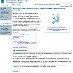 VLIZ - Alien species in the Belgian part of the North Sea and adjacent estuaries