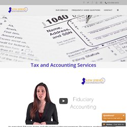Inheritance Tax and Accounting Services at NJ Executor