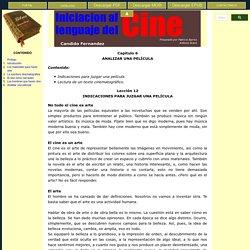 Iniciacion al lenguaje del cine - Candido Fernandez