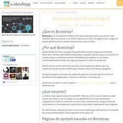 Iniciando con Bootstrap 3