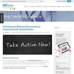 Iniciativas en Balanced Scorecard: La importancia de racionalizarlas