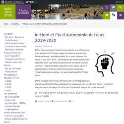 Iniciem el Pla d'Autonomia del curs 2019-2020