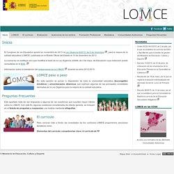 LOMCE Portal Web Ayuda