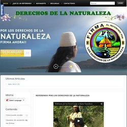 DERECHOS DE NATURALEZA - COLOMBIA REFERENDUM