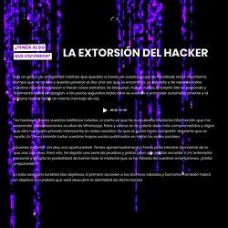 LA EXTORSIÓN DEL HACKER ( 60 min. / 2-5 jugadores)