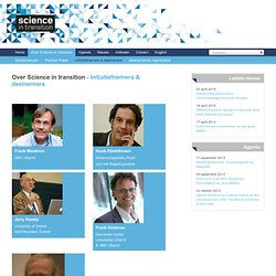 Initiatiefnemers & deelnemers