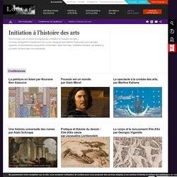 [FR] Initiation à l'histoire des arts - conférences-vidéos / Louvre
