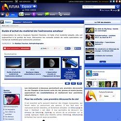 Initiation à l'astronomie : télescope Orion Starblast et jumelles