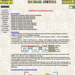 Initiation au bricolage par Serge-Henri