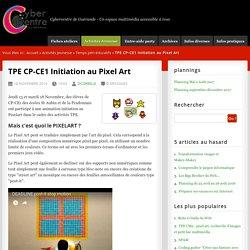 TPE CP-CE1 Initiation au Pixel Art - Cybercentre & Espace régional numérique de Guérande