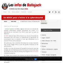 MOOC gratuit et en français d'initiation à la cybersécurité