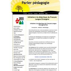 initiation à la didactique du Français Langue Etrangère