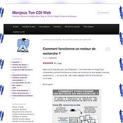 Initiation recherche documentaire « Monjous Ton CDI