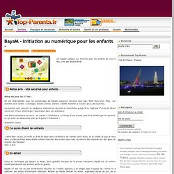 BayaM – Initiation au numérique pour les enfants -