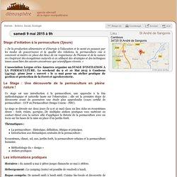 9 mai: Stage d'initiation à la Permaculture / St André de Sangonis