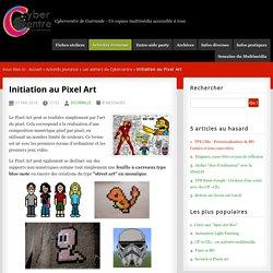 Initiation au Pixel Art