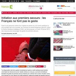 Initiation aux premiers secours : les Français ne font pas le geste