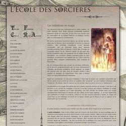Les initiations en magie et sorcellerie