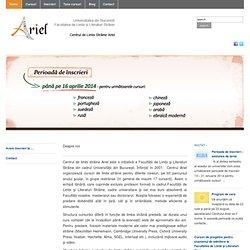 Cursuri Portugheză - Portugheza - Centrul de Limbi Straine Ariel
