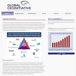 Global CEO Initiative on Alzheimer's Disease