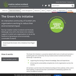 The Green Arts Initiative